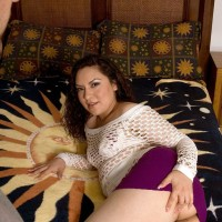 Latina chick Eva Gomez offers up her huge ass for doggystyle screwing