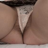 Leggy first-timer Penelope Fiore demonstrating nice ass before revealing fur covered beaver