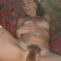 Bony first-timer Scarlett Nika sliding off underwear outdoors for fur covered cootchie spreading