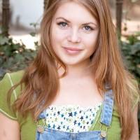 Nice teener solo girl Alessandra Jane loosing puny breasts outdoors