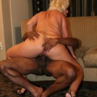 large titted golden-haired Kayla Kleevage and a wife take part in an interracial four way