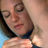 Amateur girls put their furry pits and all natural vaginas on display