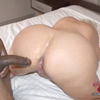 Humungous tittted platinum fair-haired Claudia Marie takes part in straight and lesbo sex