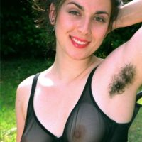 European first timers showcase off furry pits and beavers outdoors in bare feet