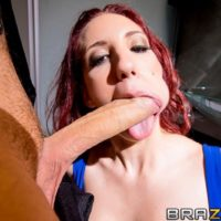 Red-haired MILF XXX vid starlet Kelly Divine butt pounded by hefty cock in ebony stockings